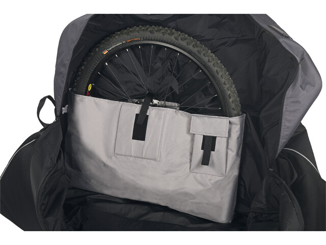 VAUDE Big Bike Bag Pro Transporttaske grå/sort (2019) | Cykelkuffert